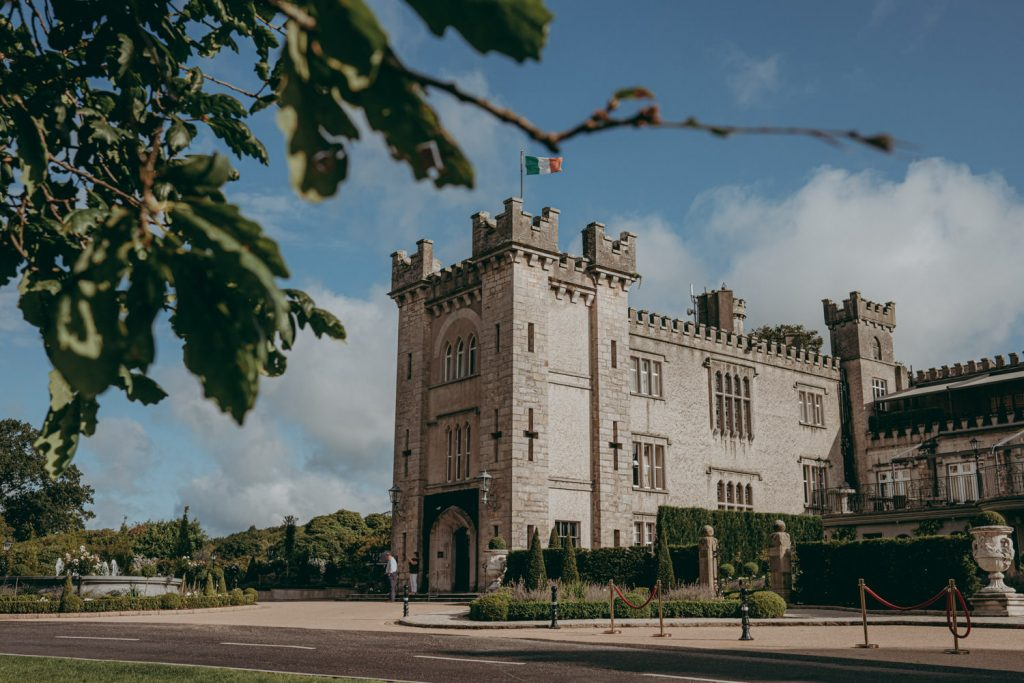 Cabra Castle Wedding Cavan Ireland